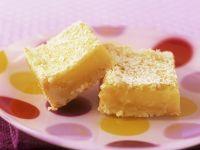 Citrus Squares recipe