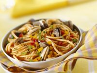 Clam Spaghetti recipe
