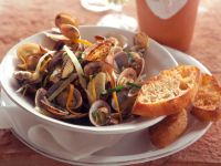 Clams with Fennel recipe
