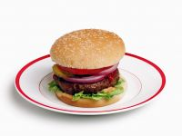 Classic Burgers with Pickles recipe
