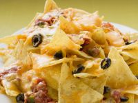 Classic Cheesy Nachos recipe