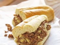 Classic Philadelphia Cheesesteak recipe