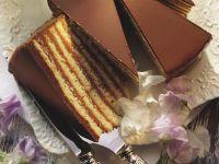 Classic Prinzregententorte (Layer Cake with Chocolate Filling) recipe