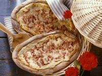 Classic Tarte with Turkey Bacon recipe