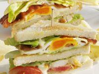Classic Turkey Club Sandwich recipe
