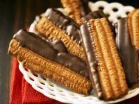 Coated Biscuit Slices recipe