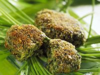 Coated Veggie Patties recipe