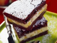 Cocoa and Soft Fruit Squares recipe