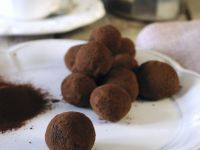 Cocoa Dusted Liqueur Truffles recipe