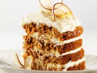 Coconut and Carrot Layer Cake recipe