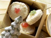 Coconut and Cherry Cookies recipe