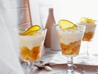 Tropical Fruit Layered Pudding recipe