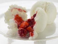 Coconut and Strawberry Clouds recipe