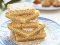 Coconut and White Chocolate Squares recipe