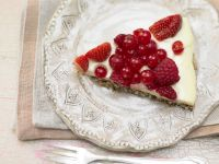 Coconut Berry Tart recipe