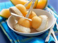 Coconut Bites with Stone Fruit recipe