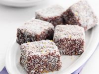 Coconut Cake Squares recipe