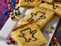 Coconut Cake with Chocolate Bears recipe