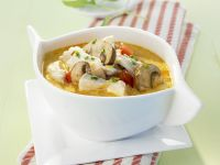 Coconut-Chicken Soup with Mushrooms recipe
