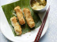 Coconut-crusted Fish Fingers recipe