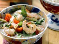 Coconut Curry Shrimp Soup recipe