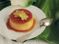 Coconut Custard with Star Fruit recipe