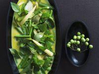 Coconut Milk, Pea, and Corn Curry recipe