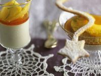 Coconut Mousse with Pineapple and Ginger Sauce recipe