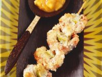 Coconut Prawn Skewers recipe