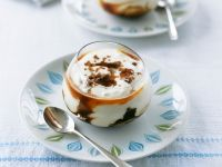 Boozy Cream Puddings recipe