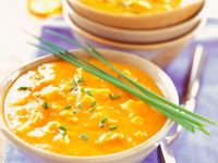 Coconut Curry Soup with Turkey