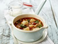 Cod and Chickpea Stew recipe