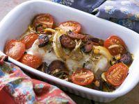 Cod and Pork Bake recipe