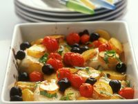 Cod and Tomato Tray Bake recipe