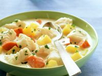 Cod and Vegetable Soup recipe