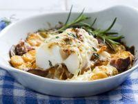 Cod, Bacon, and Carrot Bake recipe