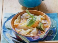 Cod Minestrone Soup recipe