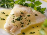 Cod with Mustard-wine Sauce recipe