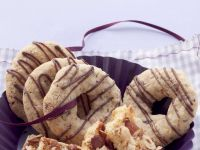 Coffee-Almond Cookies with Chocolate recipe