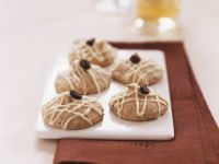 Coffee Almond Macaroon Cookies recipe