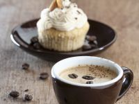Coffee and Almond Muffins recipe