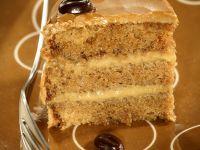 Coffee Cake with Mocha Cream