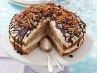 Coffee Cream and Walnut Cake recipe