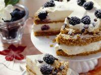 Coffee Gateau with Berries recipe