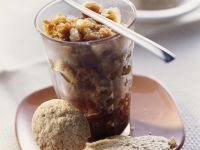 Coffee Granita with Almond Cookies recipe