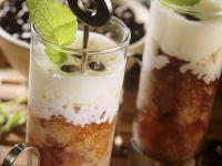 Coffee Granita with Vanilla Cream recipe