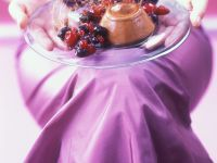 Coffee Mousse with Berries recipe