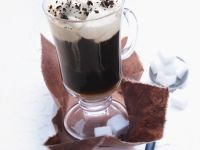 Coffee with Rum and Whipped Cream recipe
