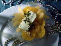 Cointreau Marinated Citrus with Pistachio Ice Cream recipe