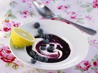 Cold Blueberry Soup recipe